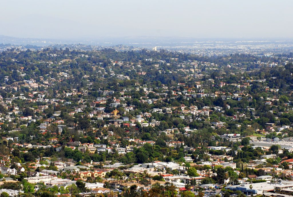 View of Silver Lake neighbourhood