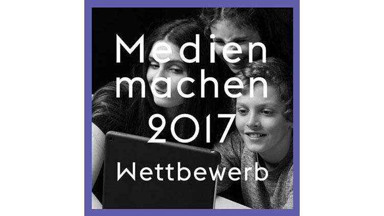 """Titelbild des Wettbewerbs """"Medien machen 2017"""""""