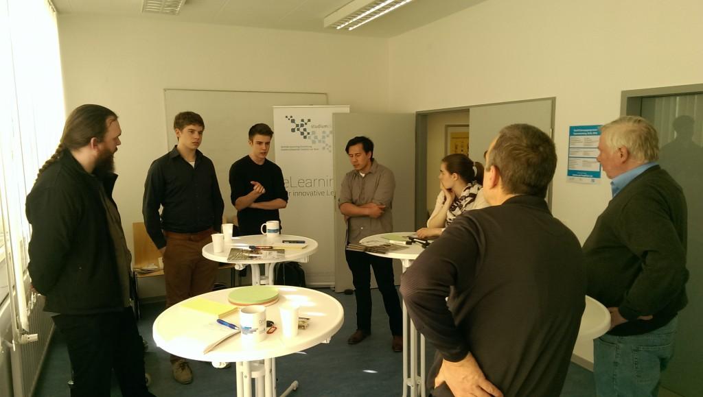 Teilnehmer aus allen Fachbereichen der Universität kamen mit ihren Ideen vorbei