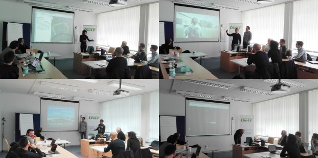 Präsentation der (Zwischen-)Ergebnisse der vier geförderten SeLF-Projekte 2015/2016