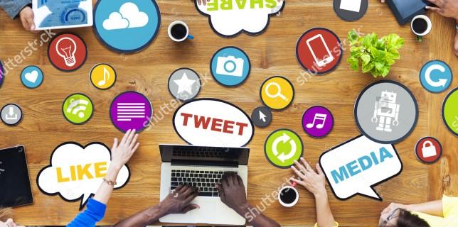 Soziale Netzwerke und Erklärvideos funktionieren über Icons, Emoticons und kreative Umsetzungen