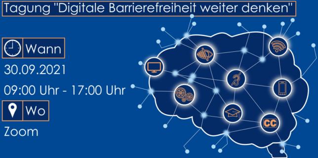 Tagung Barrierefreiheit weiter denken 30.09.2021 ab 9:30 Uhr